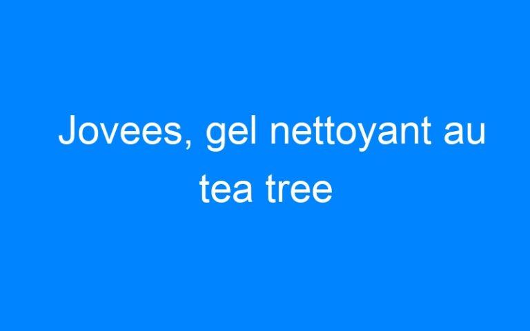 Jovees, gel nettoyant au tea tree